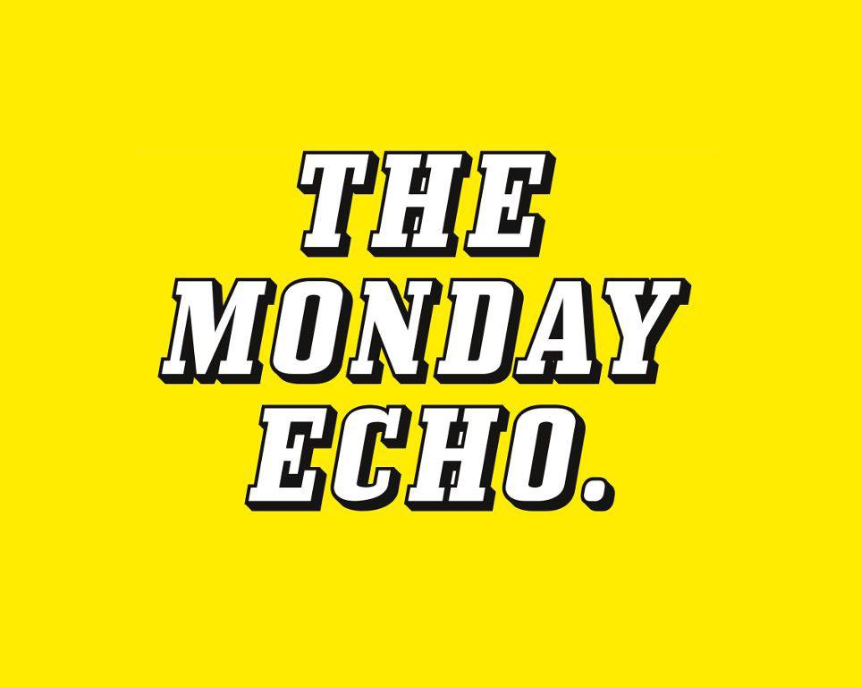 The monday echo logo